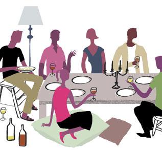 Social Media Dinner Party