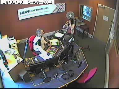 Laura Hampton on BBC Radio Nottingham