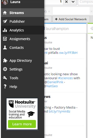 hootsuite reports